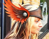 Valkyrie Viking helm helmet headdress leather