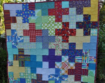 Baby Quilt or Blanket for a Boy or Girl