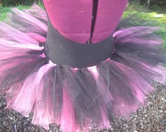 Pink & Black Tutu, Adult or Children's