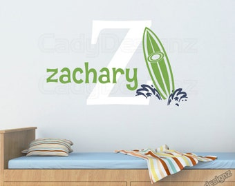 Beach Wall Decal Etsy - Beach vinyl decals