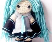 Crochet Doll - Hatsune Miku - Chibi Doll