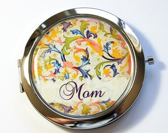 Personalized compact mirror, compact mirror, Venetian, Venetian Mirror, personalized, personalized gift, custom gift, Mothers Day (2905)