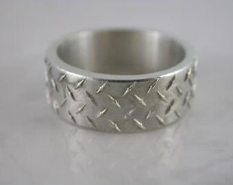 Diamond Plate Ring
