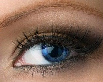 "Matte Taupe Brown Eyeshadow - ""Mink"" - Vegan Mineral Eyeshadow Net Wt 2g Large Mineral Makeup Eye Color Pigment"