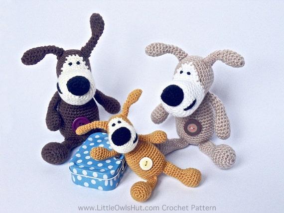 F01 Buffy The Dog - Amigurumi Crochet Pattern - PDF file by Pertseva Etsy