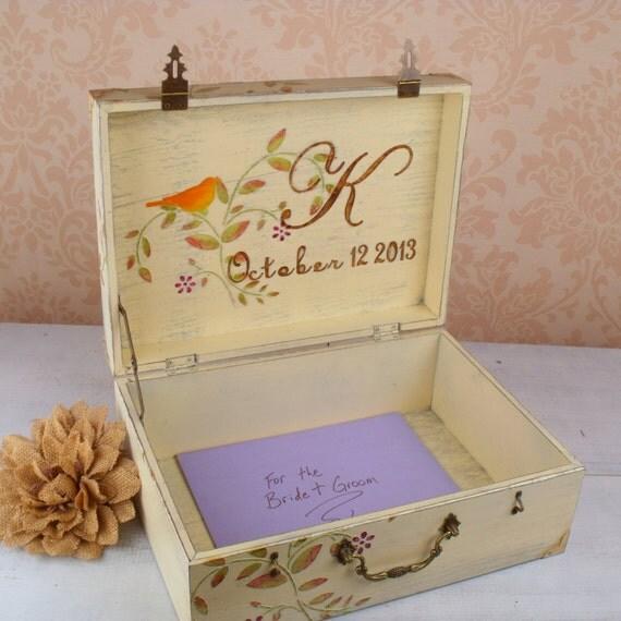 ... Wedding Decoration, Wedding Keepsake Box, Box for Cards, Wedding Gift