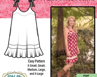 A-LINE DRESS Pattern -  #102 Stella Slip Dress