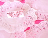 Pee Wee - Don't Leave The House Today Brooch - PIXIE and PIXIER