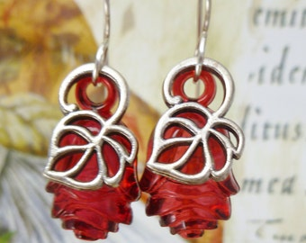 SALE! A Rose by Any Other Name Earrings