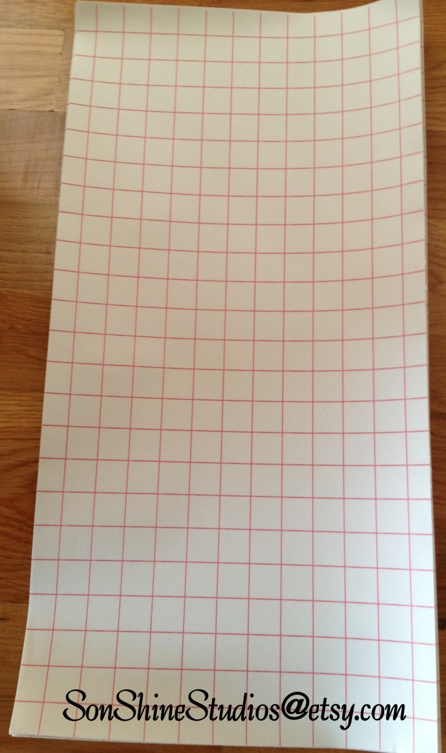 Transfer Sheets 12x24 With Red Grid Lines 10