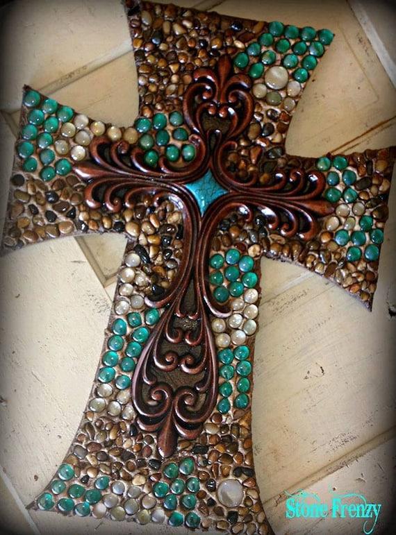 Items similar to Wall cross, cross, decorative wall cross, religious cross, wedding gift on Etsy