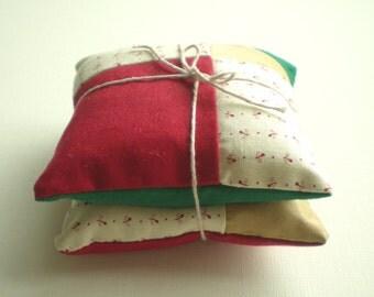 Lavender Cushion Festive Colours - set of 2
