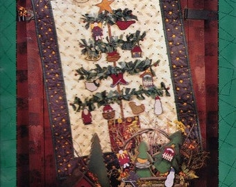 Holiday Hang-Ups Wall Quilt Pattern by Debbie Mumm - Mumms the Word - Christmas Wall Quilt