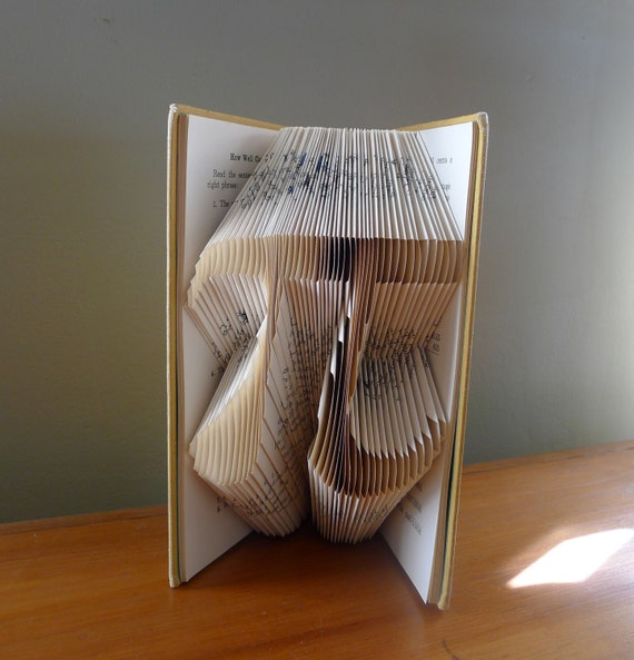 Pi Folded Book Art Math Pi Day March 14th Forever