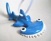 Hammerhead Ornament - Ready to Ship