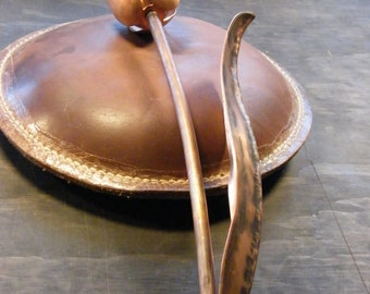 Hand Forged Copper Tulip