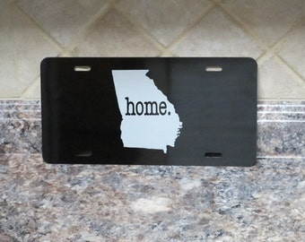 Personalized Car Tag with State