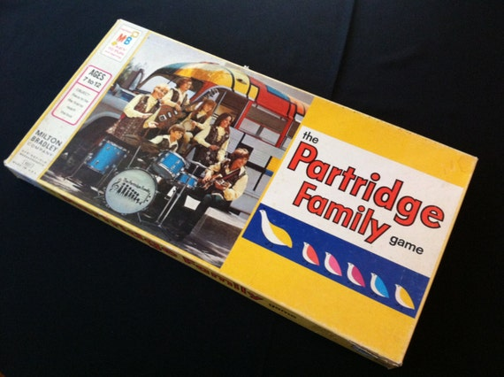 Partridge Family Board Game 1971 COMPLETE