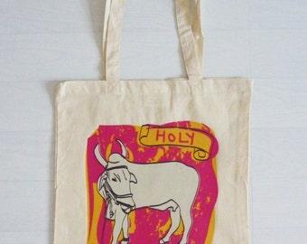 Holy Cow - 100% Cotton Shopper / Tote Bag