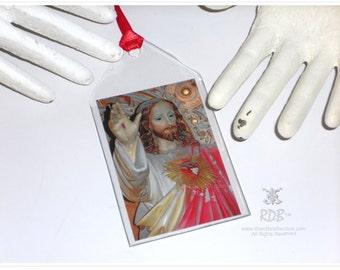 Sacred Heart Jesus Bookmark