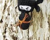 Amigurumi PATTERN-Crochet Ninja Doll PDF Pattern-Amigurumi Doll Pattern