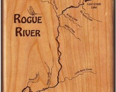 ROGUE RIVER MAP Fly Box-L...