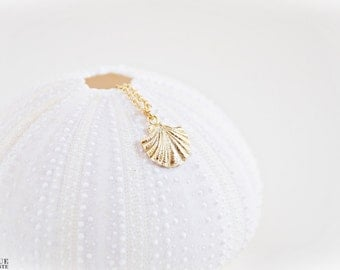 18K Vermeil Shell Necklace