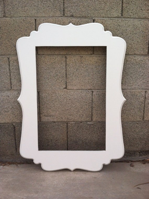 Items Similar To Beautiful And Unique Wood Frame For 20x30