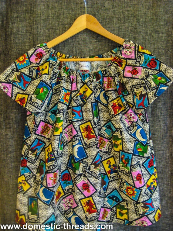 Peasant Blouse For Girls