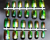 Scarab Beetle Nail Art Set (2 sets of 12 nails)