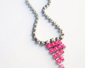 G I N A Neon Pink Necklace