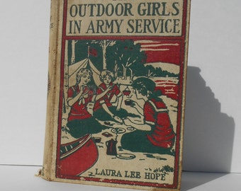 The Outdoor Girls in Army Service 1918