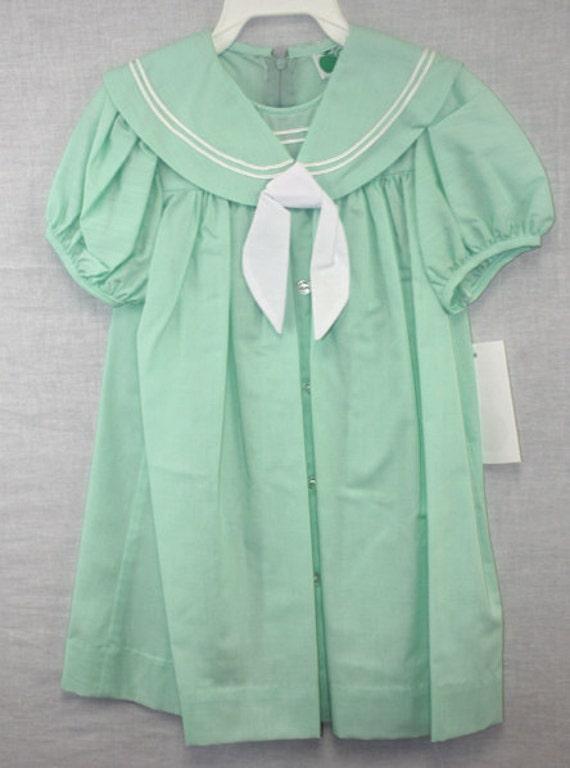 Items similar to B074 Baby Sailor Dress Baby