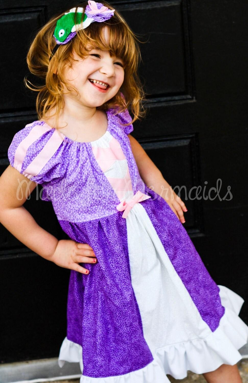 Rapunzel Dress everyday princess PDF Pattern instant download