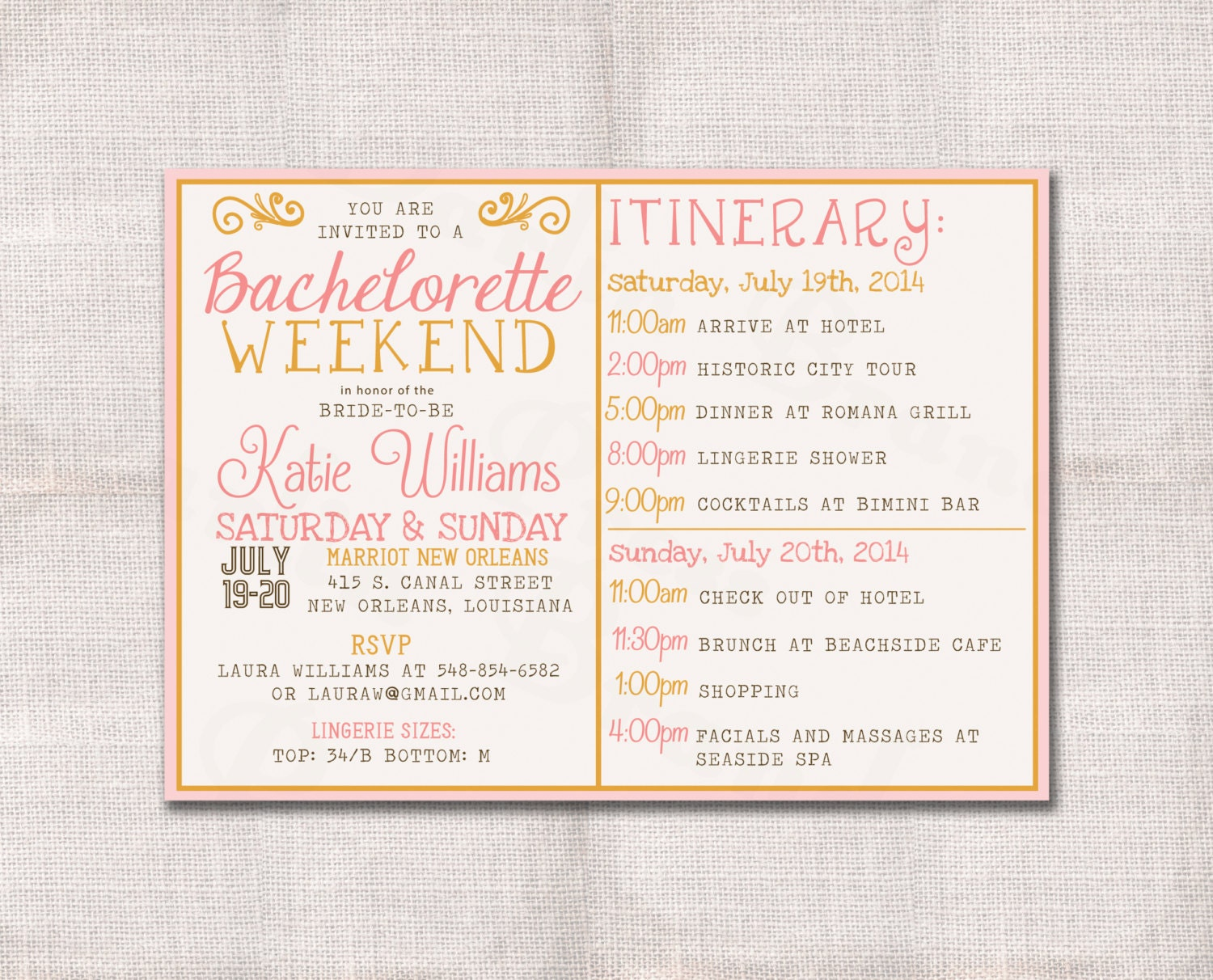 wedding invites fonts
