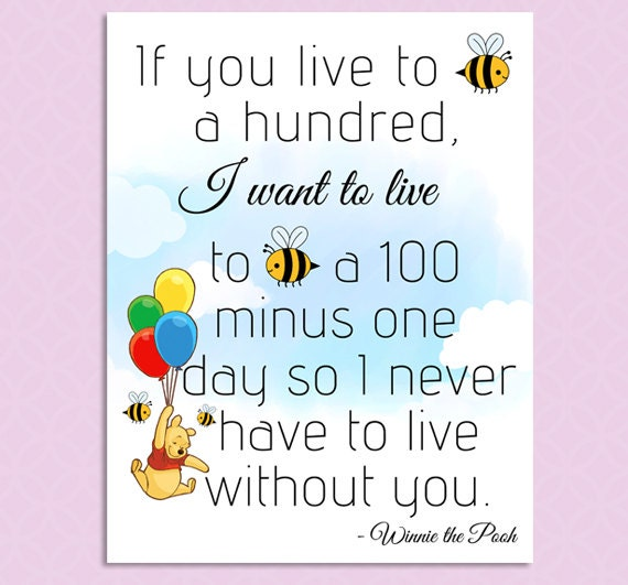 It's just an image of Unforgettable Printable Winnie the Pooh Quotes