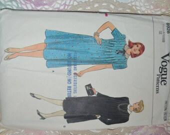 Vogue 8928 Maternity Dress,Top,Sewing Pattern Size 12 - UNCUT