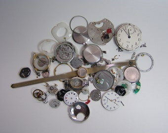 Bag of Watch Parts