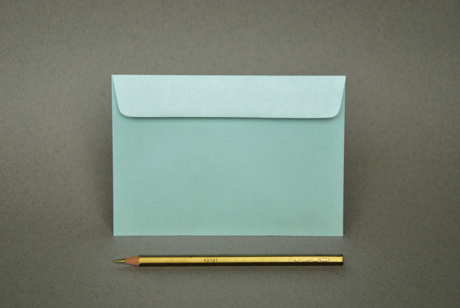 4x6 Metallic Mint Envelopes - for A6 cards (pack of 10 or 20 ...