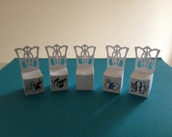 Wedding Chair Favors