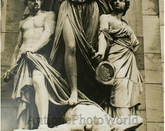 Paris Opera House statue by Bernard Wolff