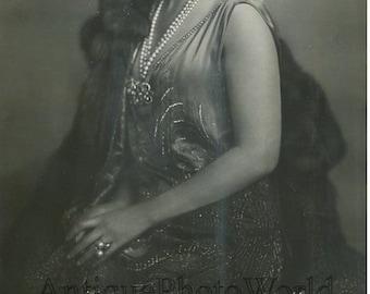 Maria Jeritza opera singer antique music art photo