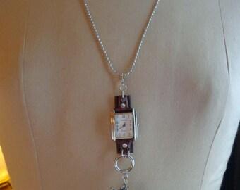 "SALE Altered Art Necklace ""Freedom"" - ECS"