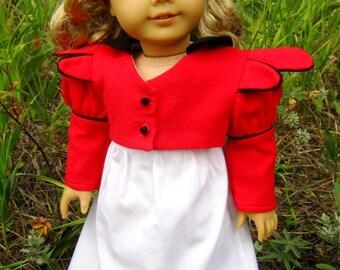 "Regency sewing pattern set for 18"" dolls"