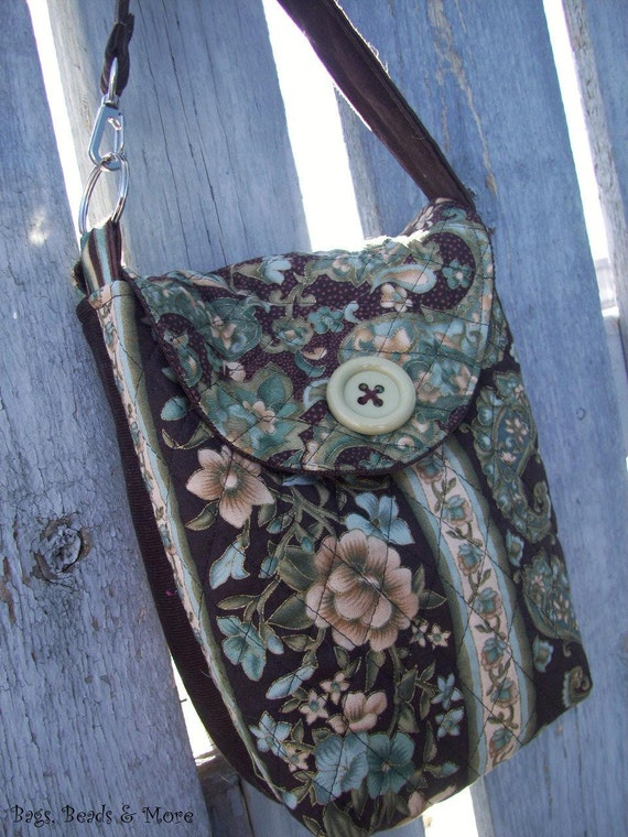Quilted Diaper Pouch, Wet Bag, Wipe Pouch