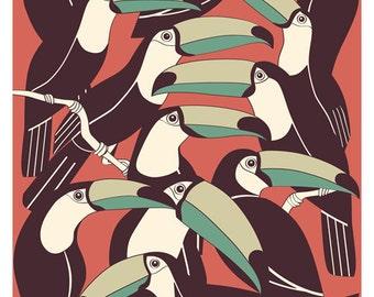 toucan print
