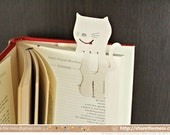 Disposable Paper Animal Bookmark/Tea Bag Holders (Pack of 6 Bears, Cats or Rabbits) - Gloriousmess