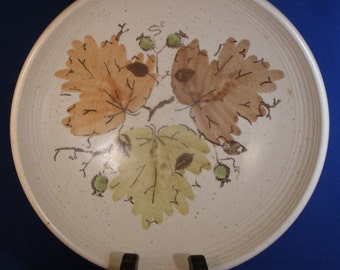Mixed lot  - 4 Serving Pieces - Metlox, Woodland Gold, Pattern #P560