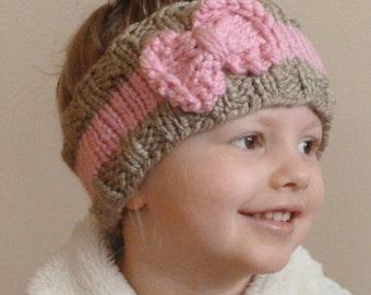 Beginner Ear Warmer Knitting Pattern : FREE KNITTING PATTERN FOR EAR WARMER   KNITTING PATTERN