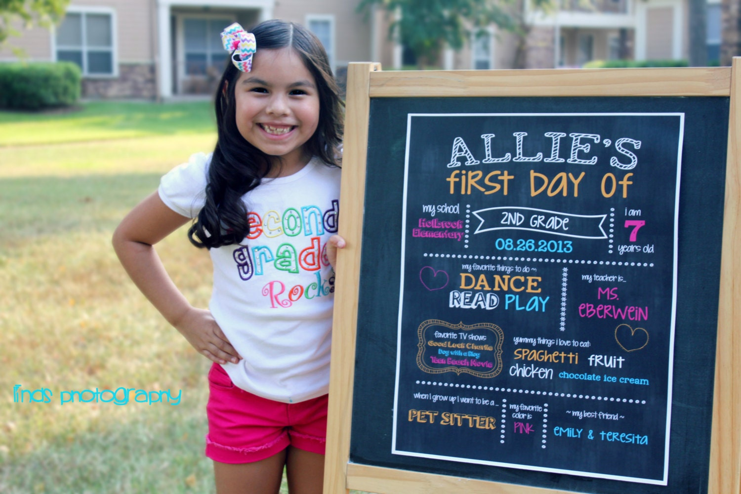 First Day Of Kindergarten Sign Template First day of school chalkboard